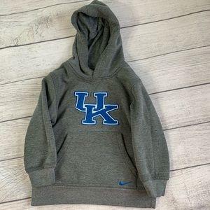 Kentucky Wildcats UK Nike grey hoodie 4